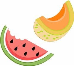 Melon Slices print art