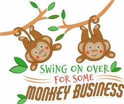 Monkey Business print art