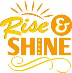 Rise & Shine print art