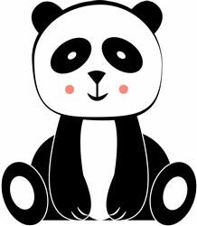 Panda Bear print art
