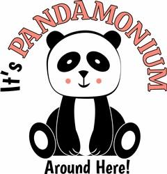 Its Pandamonium_ print art