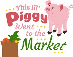 Piggy Went To Market print art