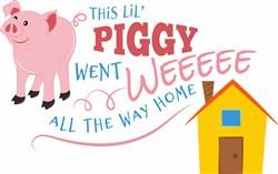 Piggy Went Weeeee print art