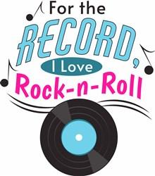 Love Rock-N-Roll print art