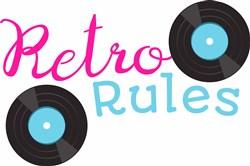 Retro Rules print art