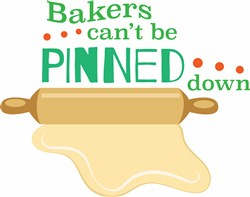 Bakers Pinned Down print art
