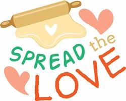 Spread The Love print art