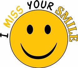 Miss Your Smile print art