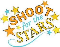Shoot For Stars print art
