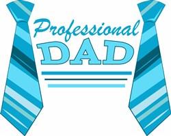 Professional Dad print art