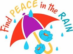 Peace In Rain print art