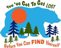 Get Lost print art