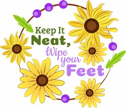 Wipe Your Feet print art