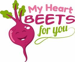 My Heart Beets print art