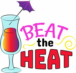 Beat The Heat print art