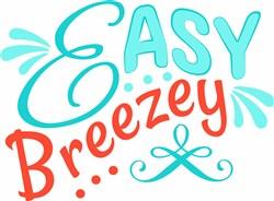 Easy Breezey print art