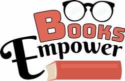 Books Empower print art