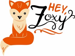 Hey Foxy print art