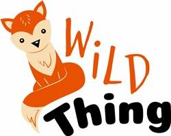 Wild Thing print art