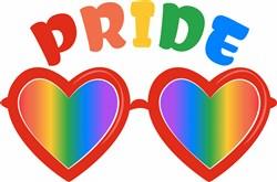 Pride Glasses print art