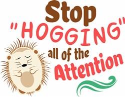 Stop Hogging print art