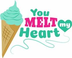 Melt My Heart print art