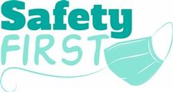 Safety First print art