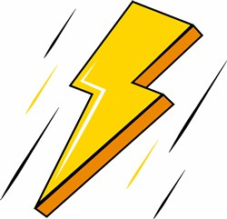 Lightning Bolt print art