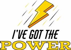 The Power print art