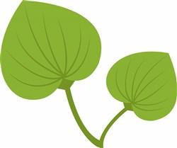 Green Leaves print art