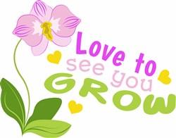 See You Grow print art