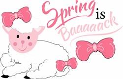 Spring Is Baaaaack print art