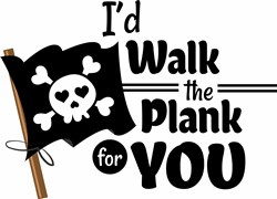 Walk The Plank print art