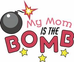 Mom Is The Bomb print art