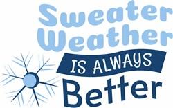 Sweater Weather print art
