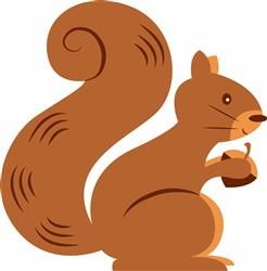 Squirrel print art