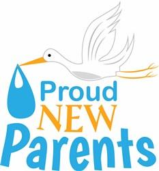 Proud New Parents print art