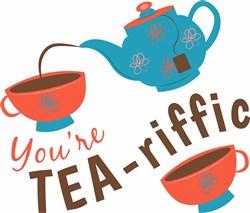Youre Tea-riffic print art