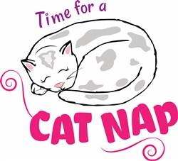 Cat Nap print art