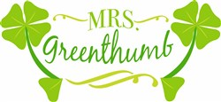 Mrs Greenthumb print art