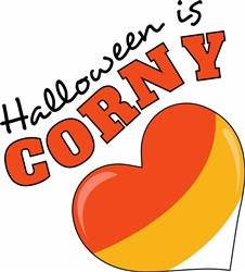 Halloween Is Corny print art