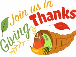 Join Us In Giving Thanks print art