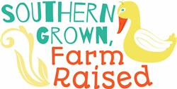 Southern Grown Farm Raised print art