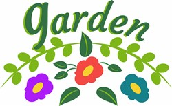 Garden Flowers print art