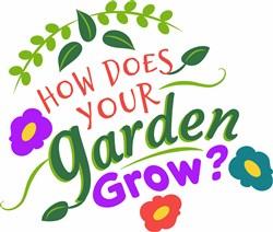 How Does Your Garden Grow print art