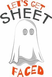 Lets Get Sheet Faced print art