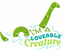 Im A Loveable Creature print art