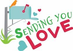 Sending You Love print art