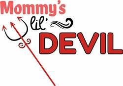 Mommys Lil Devil print art