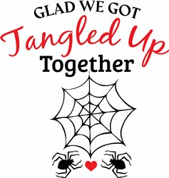 Tangled Up Together print art